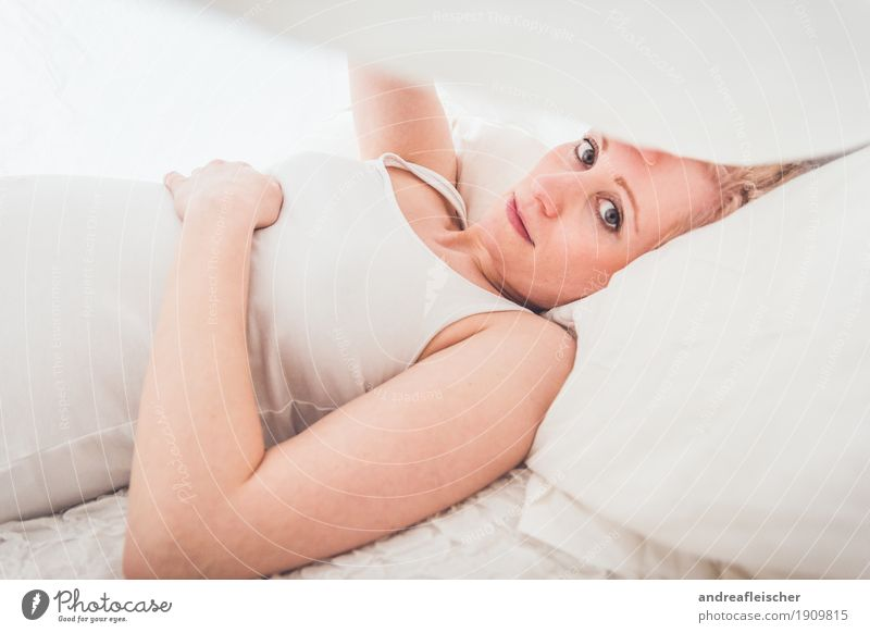 Human being Youth (Young adults) Young woman Beautiful White Relaxation Calm 18 - 30 years Adults Life Sadness Natural Feminine Think Lie Blonde