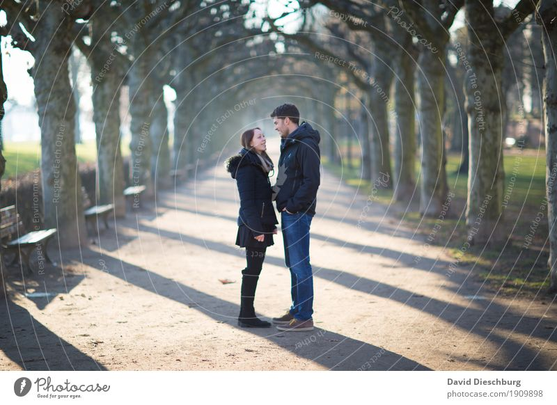 Searched and found Masculine Feminine Couple Partner 2 Human being 18 - 30 years Youth (Young adults) Adults Nature Spring Summer Autumn Winter