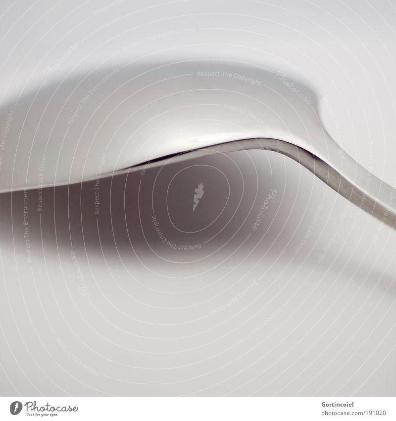 Dark Gray Style Metal Bright Line Glittering Elegant Design Nutrition Corner Round Delicate Silver Smooth Arch