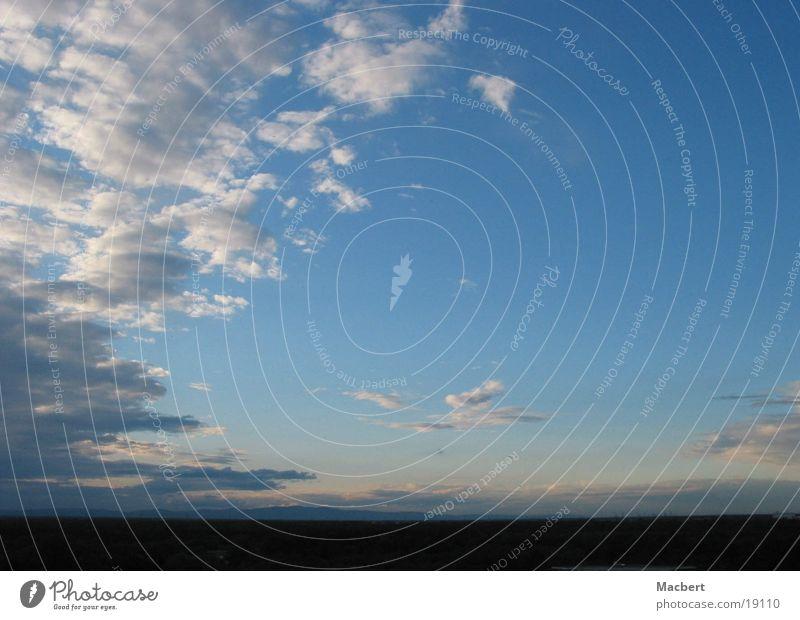 Sky Blue Clouds Far-off places Wind Horizon