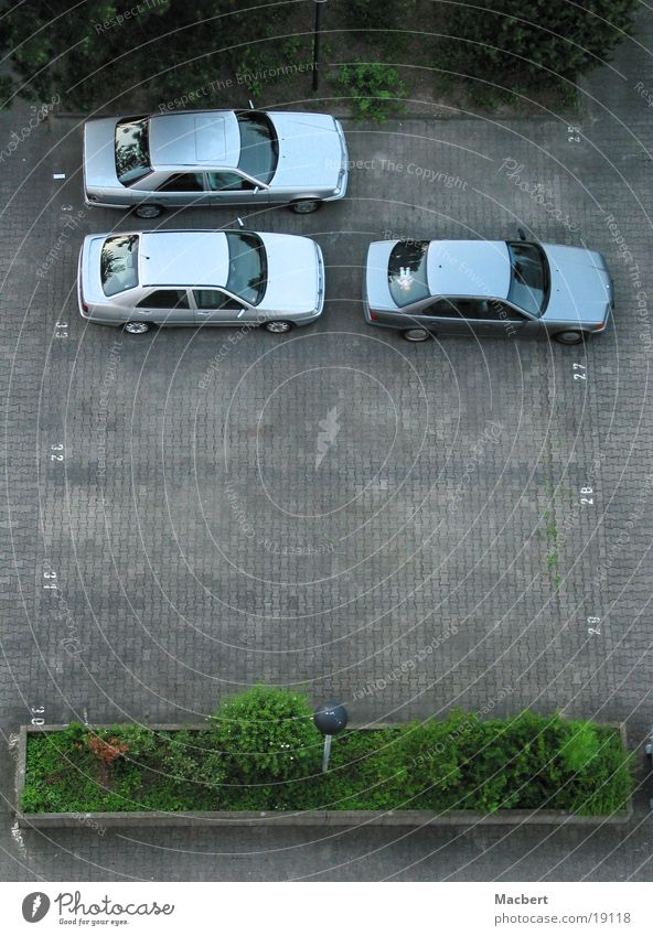 Car Transport Parking lot Paving stone
