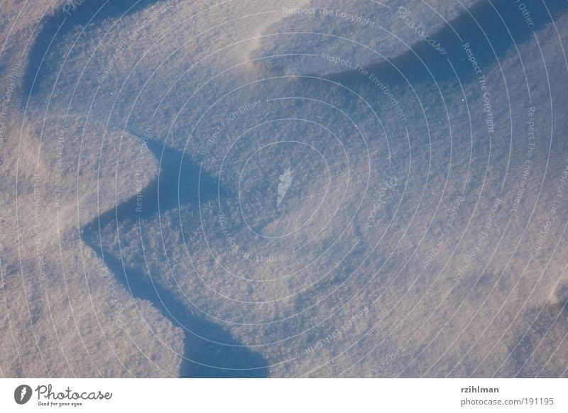 Drawing from wind and snow Calm Sun Waves Winter Snow Feasts & Celebrations Nature Landscape Wind Dream Cold White Joie de vivre (Vitality) Climate Frost