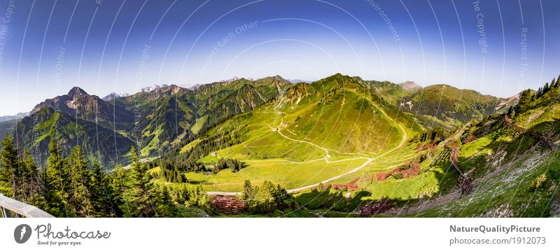 panoramic of kleinwalser velley - austria - europe Joy Athletic Fitness Life Harmonious Well-being Contentment Relaxation Calm Meditation Leisure and hobbies