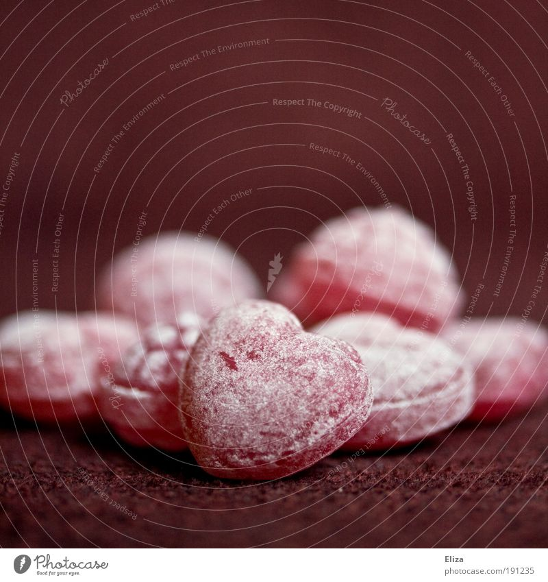 heart-shaped candies Candy Valentine's Day Kitsch Heart Delicious Juicy Sweet Red Love Confectioner`s sugar Romance Nutrition Christmas Fair Emotions Close-up