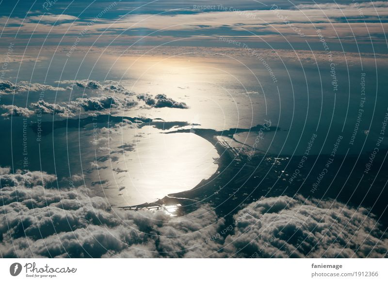 bay Environment Nature Landscape Elements Air Water Earth Sky Clouds Climate Beautiful weather Moody Above the clouds Clouds in the sky Cloud cover Bay
