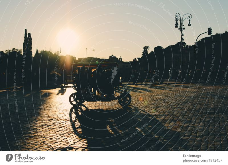 Roma VI Lifestyle Style Cycling Human being Town Capital city Downtown Old town Populated Driving Emotions Moody Joy Happy Happiness Joie de vivre (Vitality)