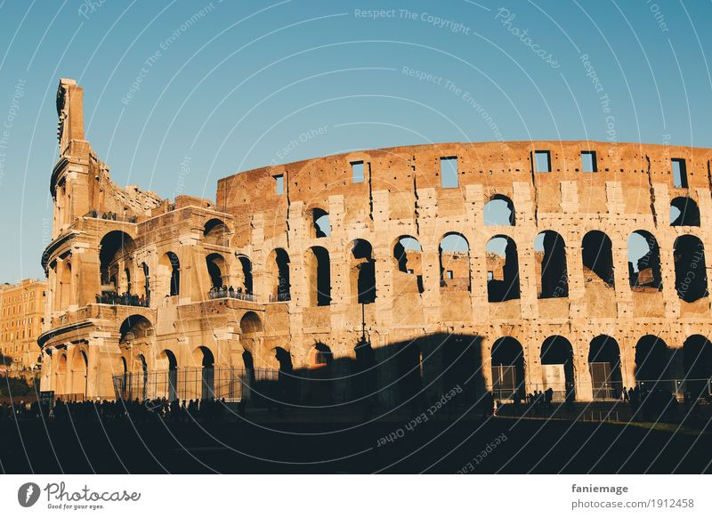 colosseo Culture Landscape Town Capital city Downtown Old town Ruin Manmade structures Architecture Tourist Attraction Landmark Colosseum Rome Italy Italian