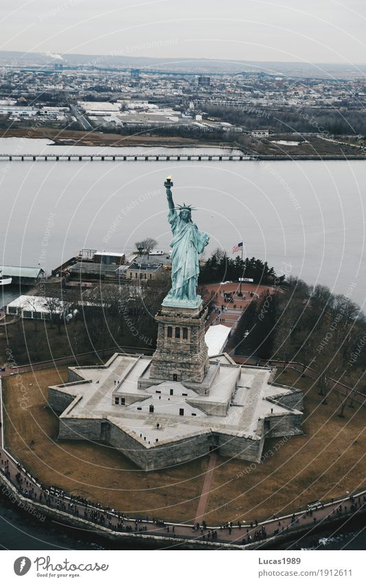 Vacation & Travel Far-off places Architecture Building Exceptional Freedom Tourism Trip USA Manmade structures Americas Tourist Attraction Landmark Monument