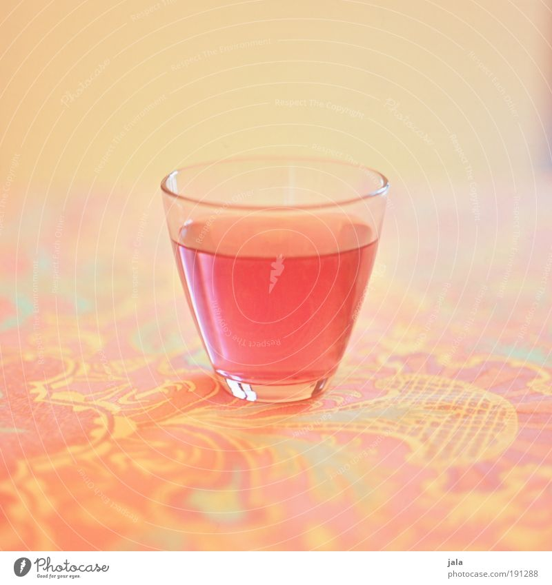 cherry soda Food Nutrition Beverage Cold drink Lemonade Alcoholic drinks Glass Fluid Multicoloured Yellow Pink Juice Sweet Thirst Table Pattern Medium format