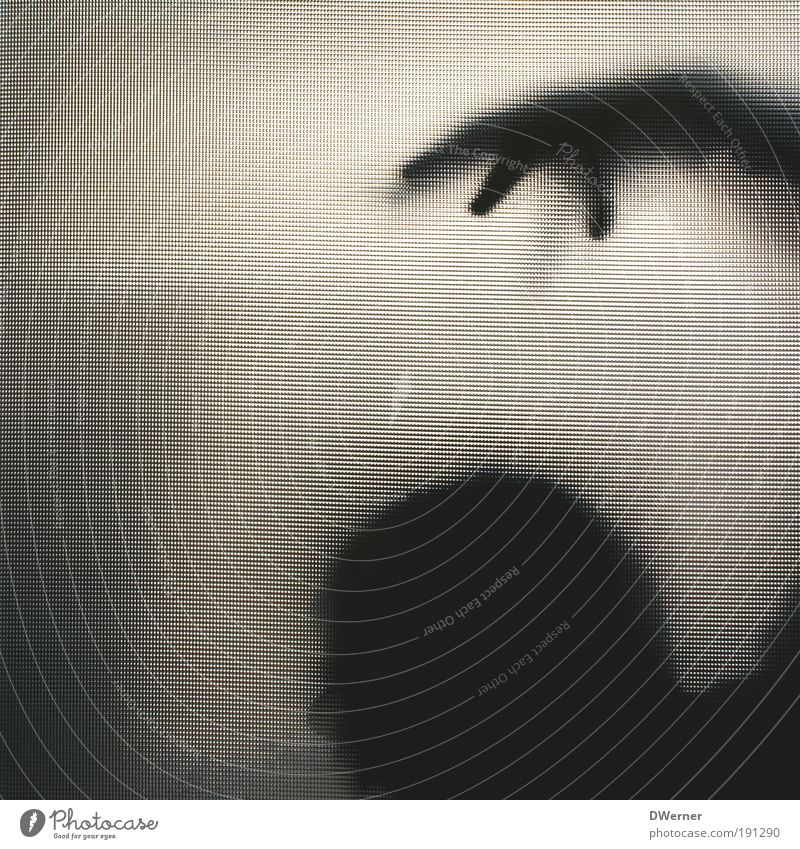 Human being Man Hand Adults Death Dark Emotions Head Art Door Glass Fear Masculine Crazy Lifestyle Threat