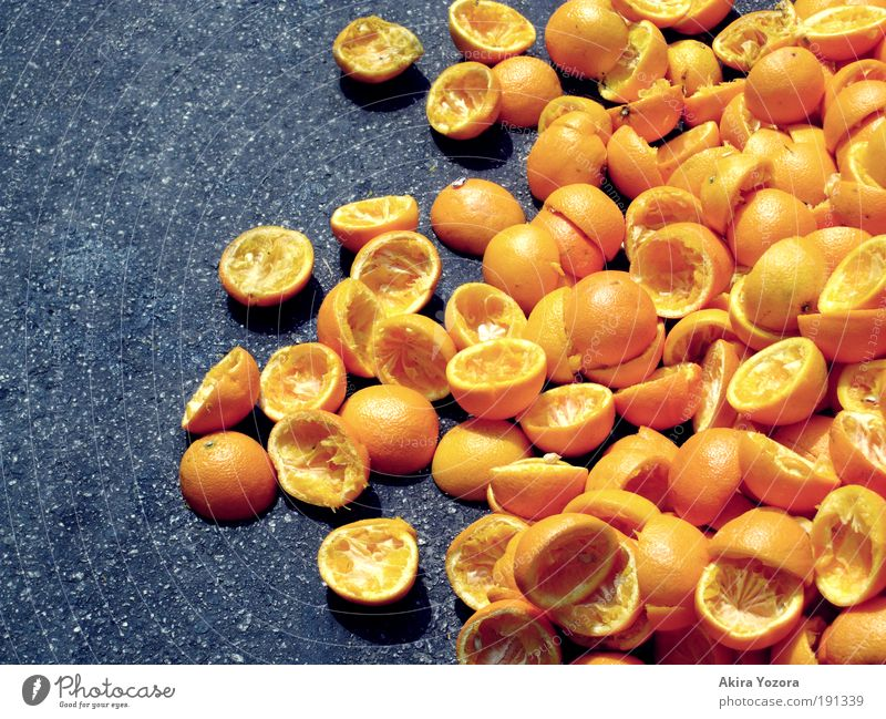 Black Yellow Life Healthy Food Fruit Orange Nutrition Empty Exotic Vegetarian diet Cold drink Juice Vitamin Utilize