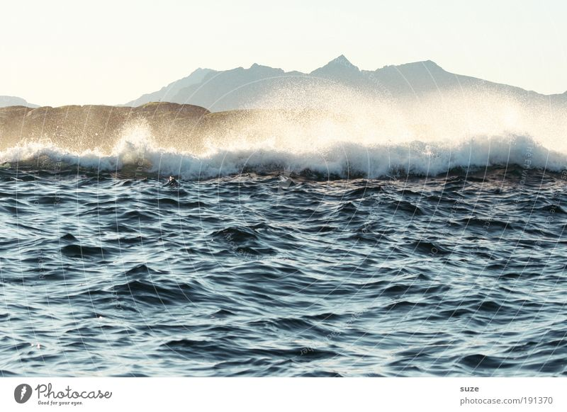 lofoten Vacation & Travel Expedition Beach Ocean Waves Mountain Nature Water Wind Gale Coast Dream Wild Blue White Fear Surf Background picture Helpless