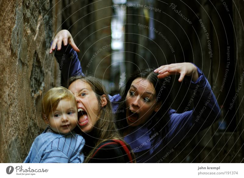 Human being Child Joy Adults Dark Parents Family & Relations Funny Masculine Exceptional Crazy Cool (slang) Mother Threat Toddler Creepy