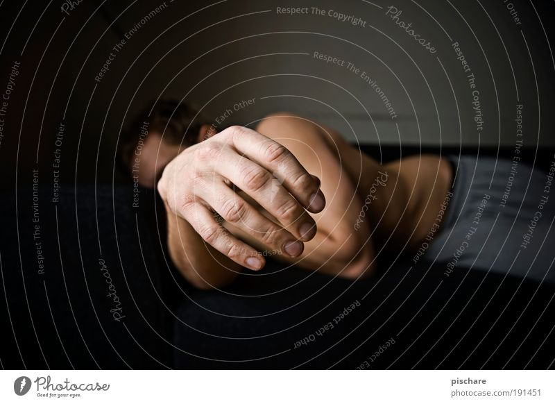 hangover Relaxation Night life Masculine Man Adults Hand Fingers 1 Human being Sleep Boredom Fatigue Lack of inhibition Debauchery pischarean Hung-over