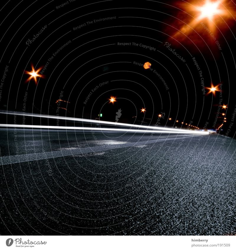 Vacation & Travel Street Dark Transport Energy industry Speed Perspective Driving Asphalt Racing sports Tunnel Traffic infrastructure Street lighting Pavement