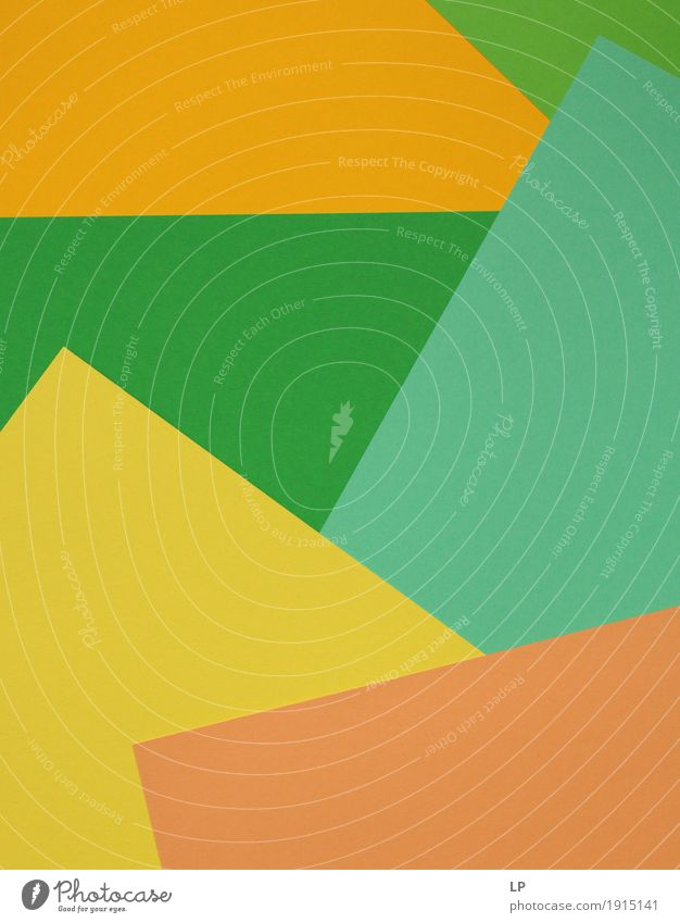 abstract background/ coloured structures 1 Green Joy Yellow Life Emotions Lifestyle Style Art Orange Design Line Leisure and hobbies Contentment Decoration