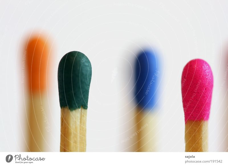 Colourful Wood Blue Multicoloured Green Pink Match match head Sulphur Orange Versatile Species diversity Vertical Row Arrangement Combustible Selection