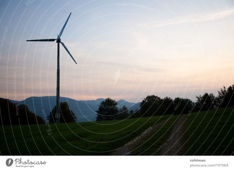 Nature Air Wind Energy Energy industry Electricity Wind energy plant Ecological Save Climate change Electricity generating station Performance Carbon dioxide