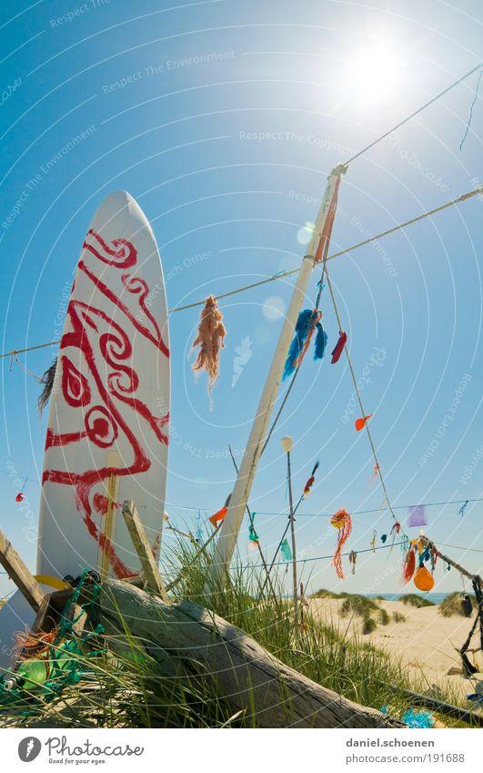 California dreaming Vacation & Travel Tourism Summer Summer vacation Sun Sunbathing Beach Ocean Island Whimsical Surfing Surfboard Light Shadow Sunlight Sunbeam