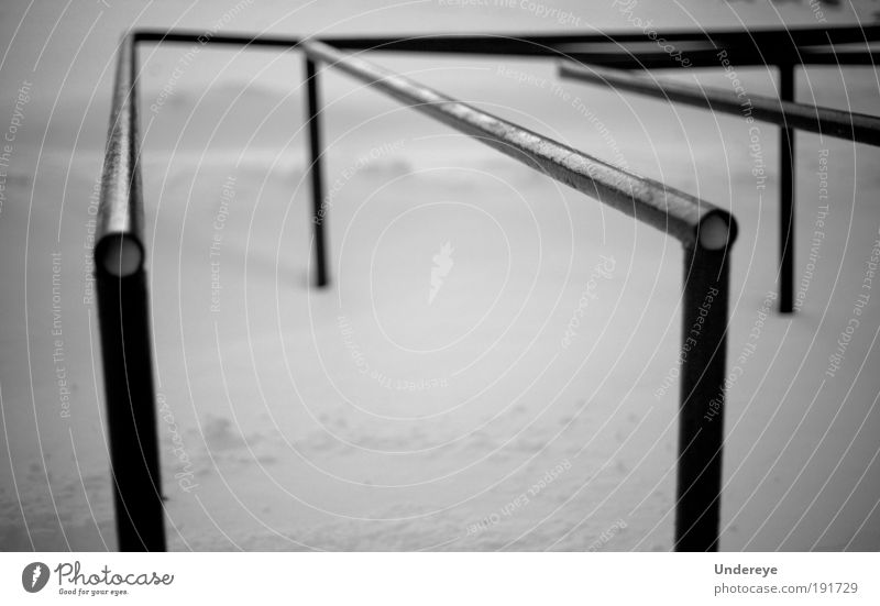 Snow Tubes Ocean Winter Black Cold Gray Park Line Cool (slang) Geometry