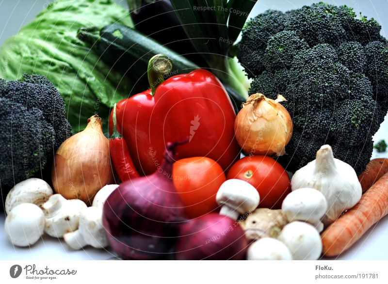 Green White Red Food Fresh Nutrition Healthy Eating Agriculture Vegetable Harvest Delicious Still Life Organic produce Markets Mushroom Diet