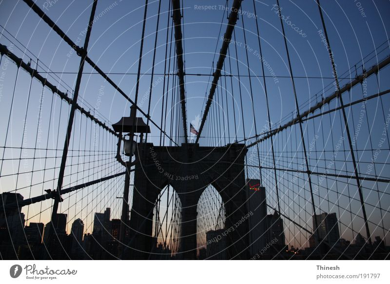 City Bridge Manmade structures Tourist Attraction New York City Populated