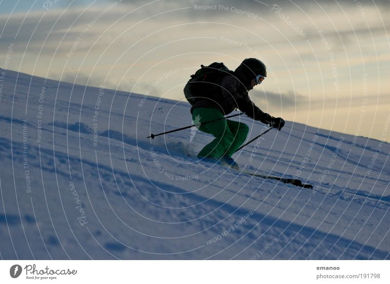 Human being Nature Youth (Young adults) Winter Joy Adults Snow Sports Mountain Movement Weather Leisure and hobbies Hiking Climate Esthetic Lifestyle