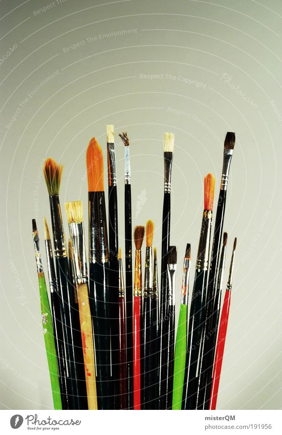 Art Design Modern Esthetic Many Painting (action, artwork) Creativity Painting and drawing (object) Idea Museum Attachment Teamwork Surrealism Inspiration