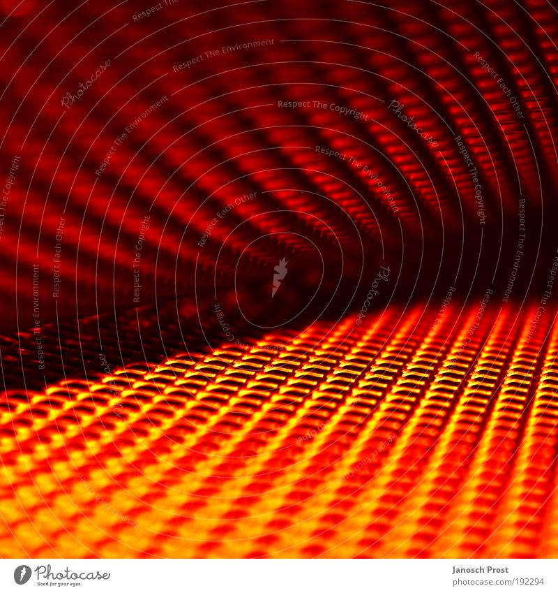 .grid games Metal Line Net Illuminate Dark Sharp-edged Firm Glittering Hot Modern Warmth Yellow Gold Red Black Warm-heartedness Dream Claustrophobia