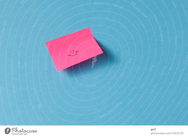 :-) Joy Happy Feasts & Celebrations Birthday Success Meeting Piece of paper Paper Sign Smiley Smiling Laughter Friendliness Happiness Cute Positive Blue Pink