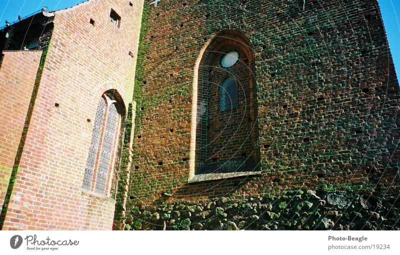 Old Wall (barrier) Religion and faith Leisure and hobbies Tradition Christianity Fehmarn Church window