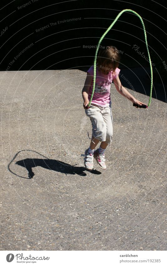 Human being Child Youth (Young adults) Girl Playing Jump Infancy Joie de vivre (Vitality) 8 - 13 years Social Children's game Attentive Youth culture