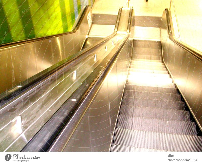 Movement Underground Escalator