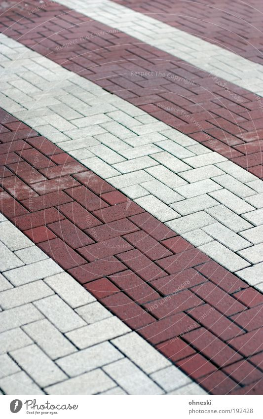White Red Street Stone Transport Stripe Brick Traffic infrastructure Motoring Striped Austria Paving stone Road traffic Pedestrian Town Zebra crossing