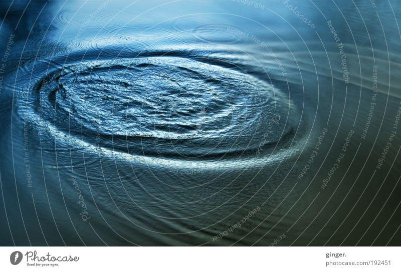 Water Blue Movement Line Bright Waves Large Growth Flow Reflection Aspire Disperse Splashing Tremble Agitation