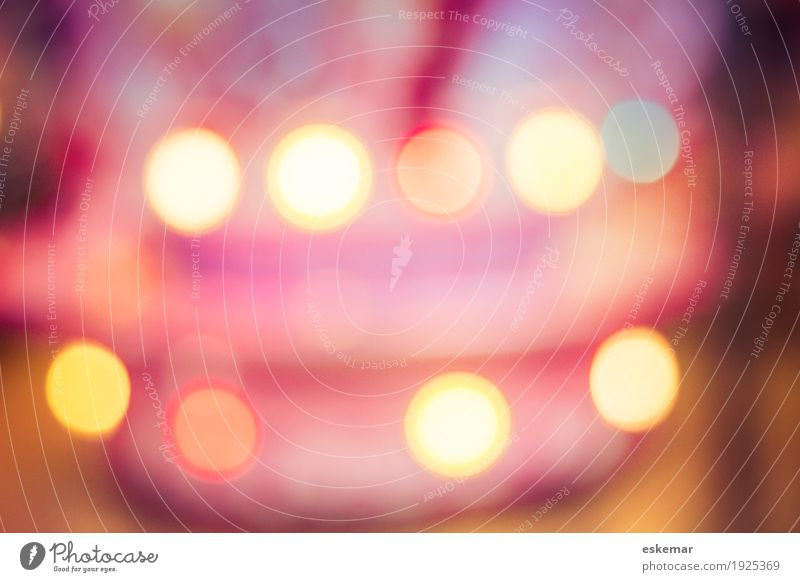 bokeh Design Art Happiness Kitsch Funny Retro Round Crazy Multicoloured Yellow Gold Violet Orange Pink Red White Bizarre Colour Leisure and hobbies Joy