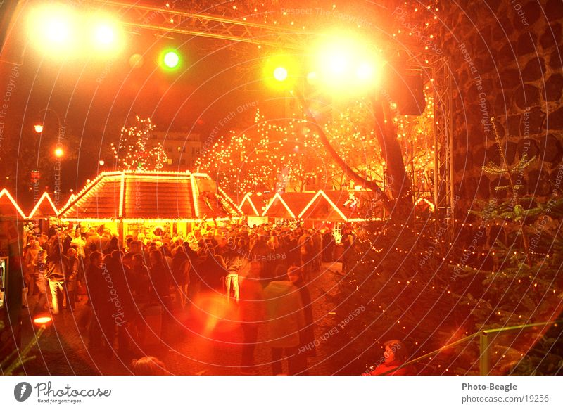 Christmas & Advent Lighting Markets Services Stage Stage lighting Floodlight Christmas decoration Christmas Fair