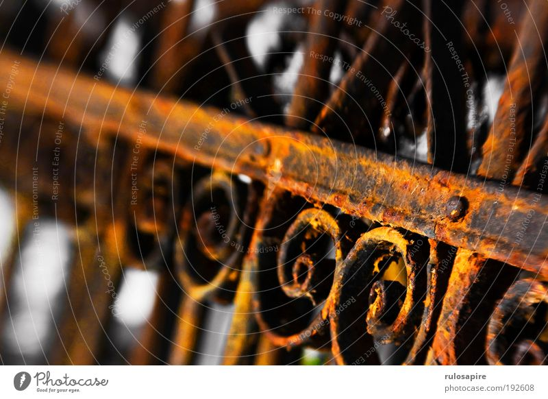 Old Red Garden Brown Metal Safety Near Protection Transience Crucifix Craft (trade) Past Rust Historic Fence Iron