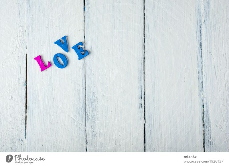 white wooden background with the word love in wooden letters Blue White Love School Feasts & Celebrations Pink Retro Idea Wedding Toys Text Valentine's Day Blog
