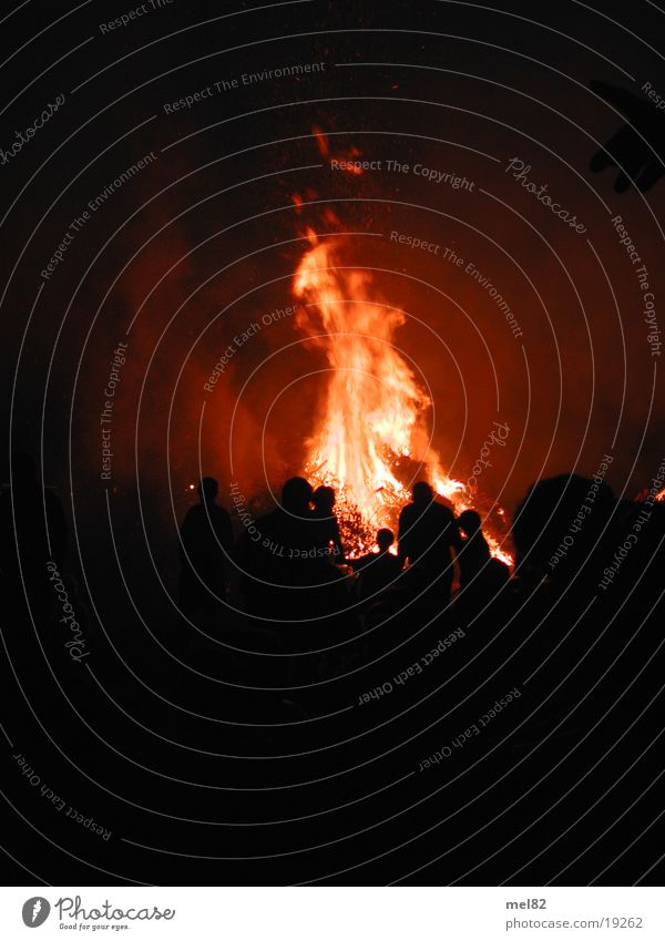 fiery Burn Hot Long exposure Blaze Summer solstice