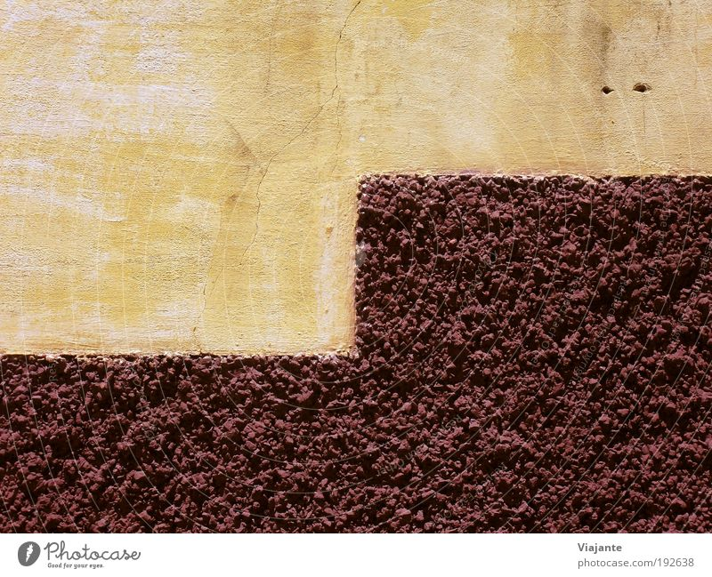BRA 2010 - Wall Manmade structures Wall (barrier) Wall (building) Facade Street Stone Concrete Old Sharp-edged Brown Red Esthetic Culture Calm