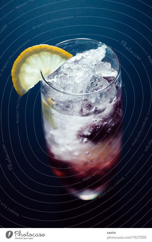 Summer Joy Cold Fruit Ice Fresh Glass Authentic Happiness Sweet Beverage Drinking Delicious Hip & trendy Lemon Cold drink