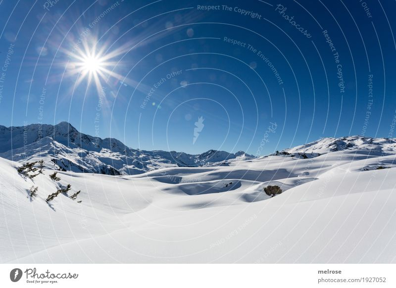 Sky Nature Vacation & Travel Blue White Sun Landscape Relaxation Winter Mountain Cold Movement Snow Brown Tourism Rock