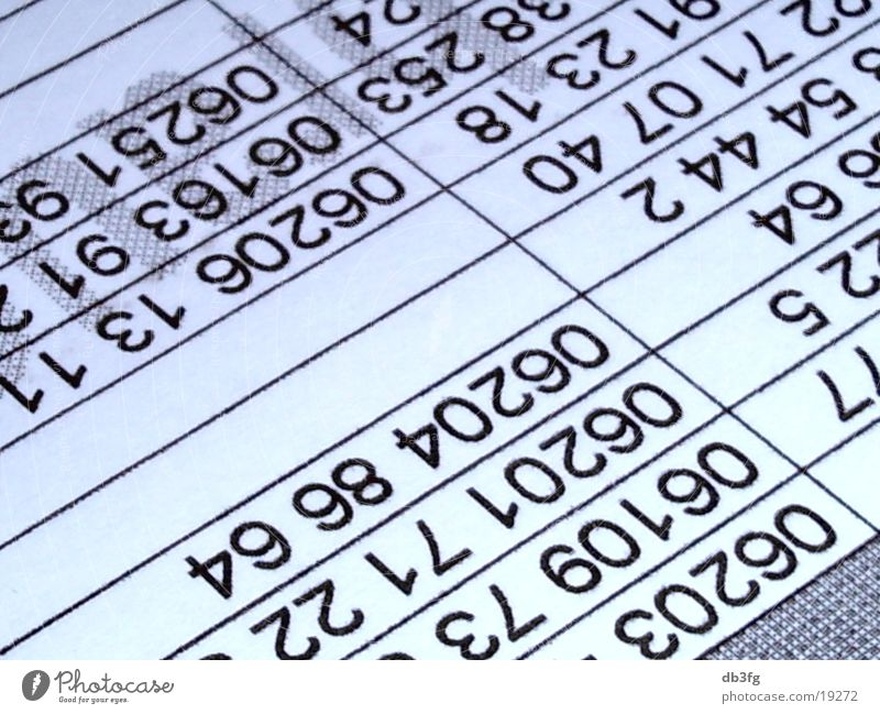 Design On Stock Blizz Bank.Playing Digits And Numbers A Royalty Free Stock Photo From Photocase