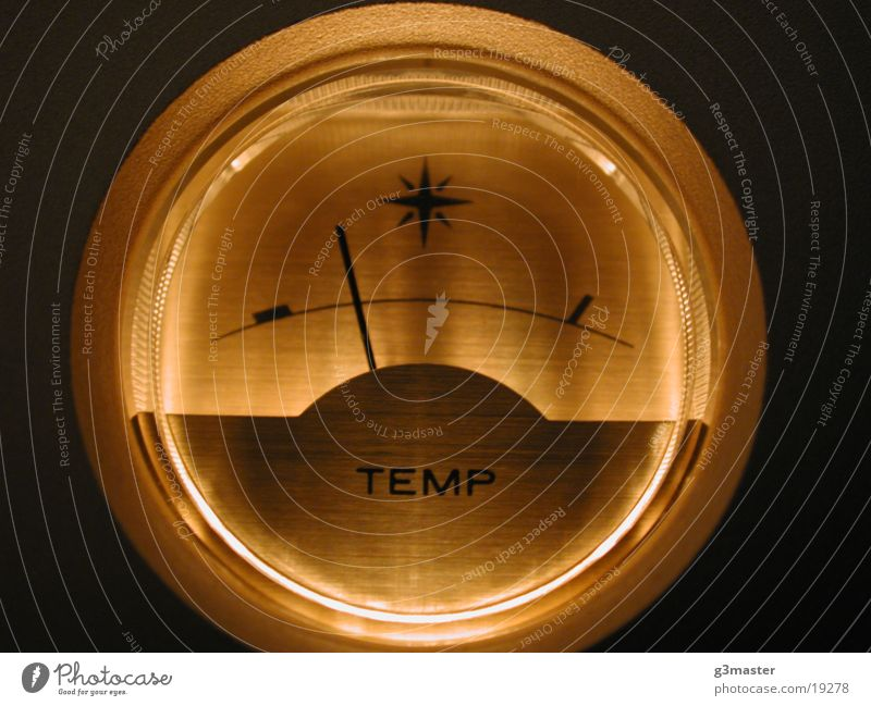 Entertainment Performance Degrees Celsius Clock Intensifier