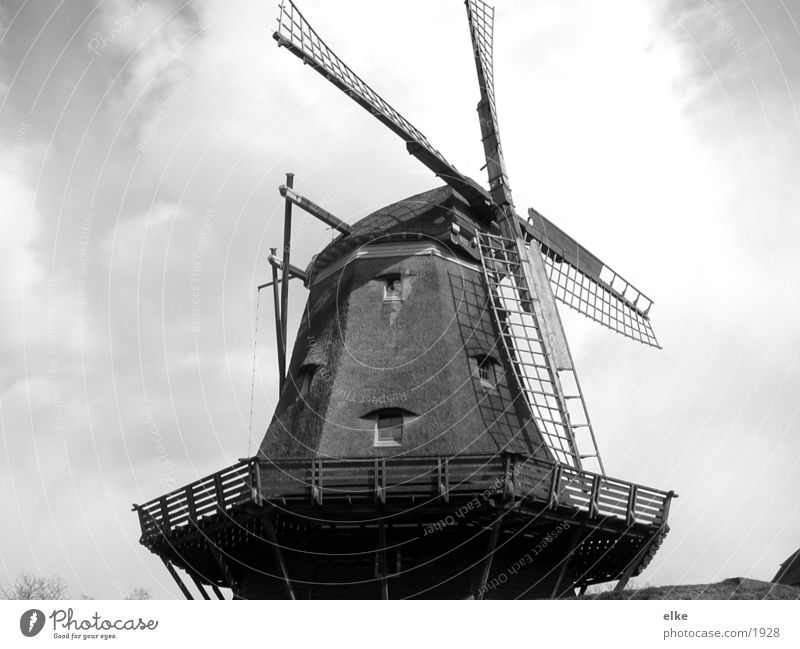 mill Mill Historic Black & white photo