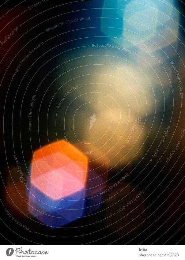 straightforwardly Bochum Pedestrian precinct Advancement Universe Go up Analog Superimposed Orange Blue Pink Fog Lens flare spotography Crystal structure