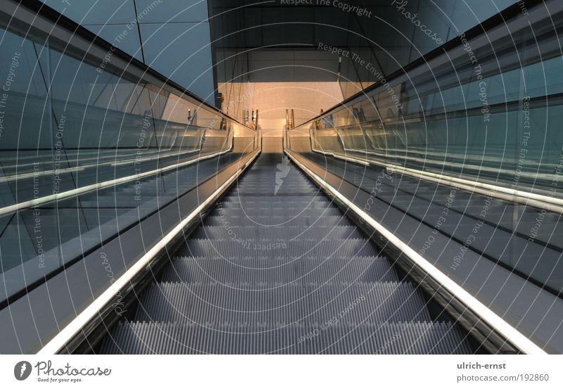 Movement Lanes & trails Architecture Design Elegant Walking Stairs Modern Esthetic Clean Airport Train station Downward Pedestrian Traffic infrastructure Advancement