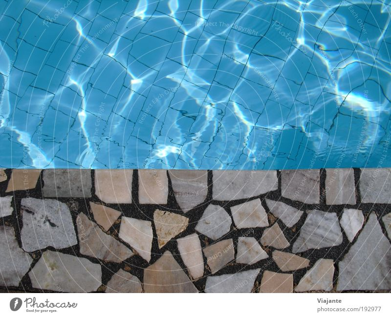 Blue Water Vacation & Travel Sun Summer Calm Relaxation Tourism Swimming pool Wellness Beautiful weather Dive Summer vacation Sunbathing Well-being Closing time