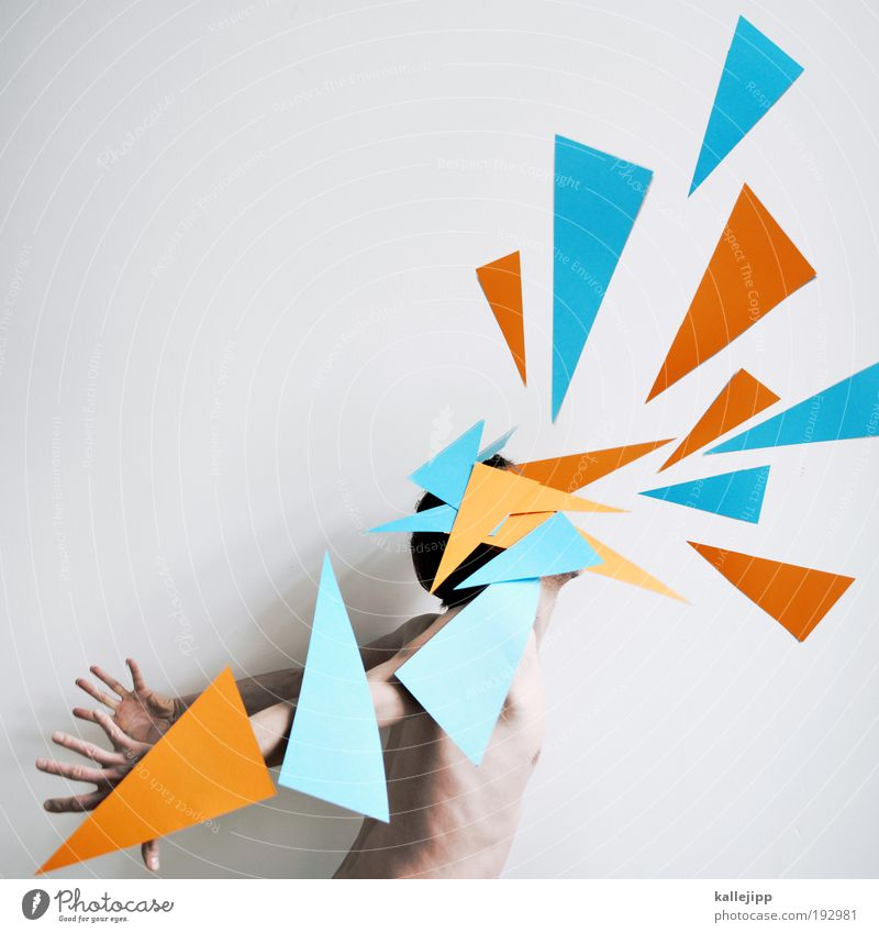 Human being Man Adults To talk Art Body Dance Masculine Illuminate Wing Communicate Point Pain Scream Fight Artist